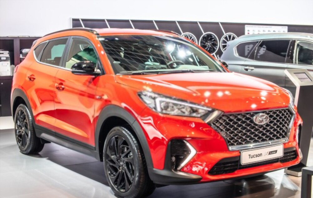 New Car Of Hyundai Tucson N Line 2021